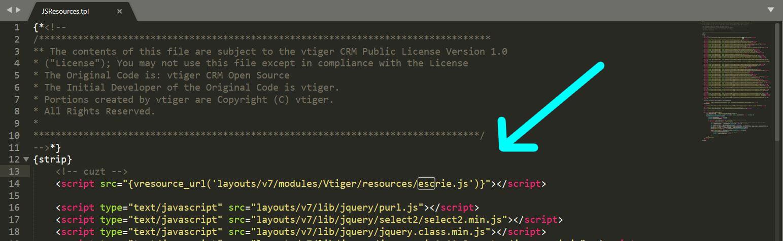 VTiger Dynamic Fields And Blocks Using Javascript/JQuery