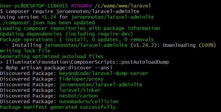 Integrate AdminLTE In Laravel Complete Guide | ScriptWriterPH